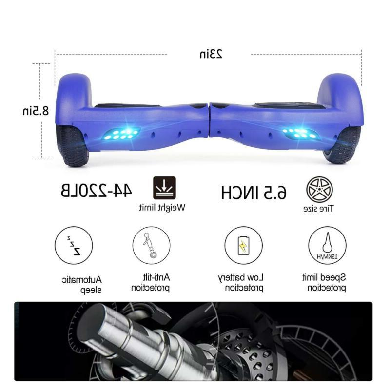 """6.5"""" Two-Wheel Self Hoverboard"""