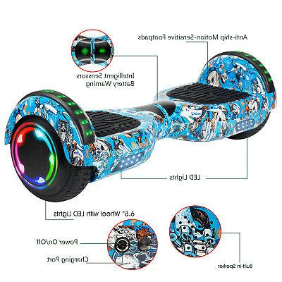 6.5 Road Bluetooth Hoverboard Electric Kids
