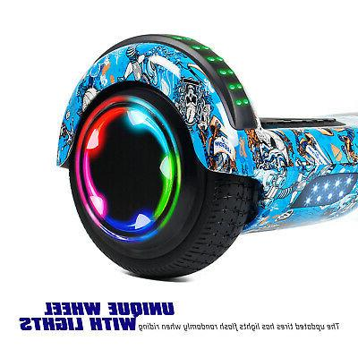 6.5 Road Bluetooth Hoverboard Hoverheart Scooter Kids Birthday Gift