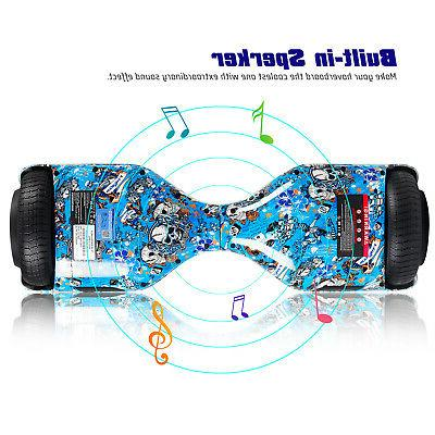 6.5 Bluetooth Hoverboard Hoverheart Electric Kids Birthday
