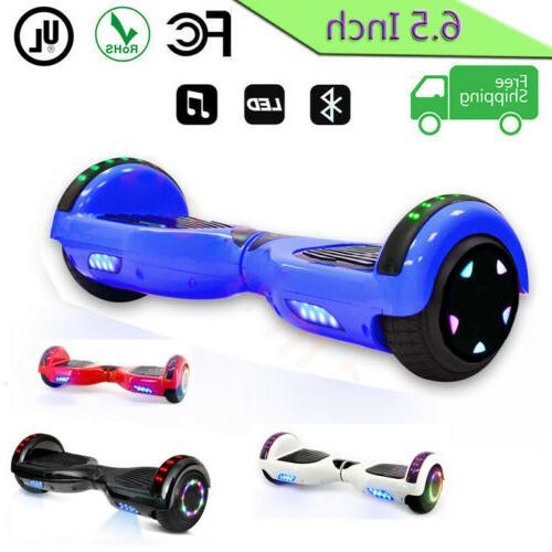 """6.5"""" skateboard Balancing Lights Scooter skate"""