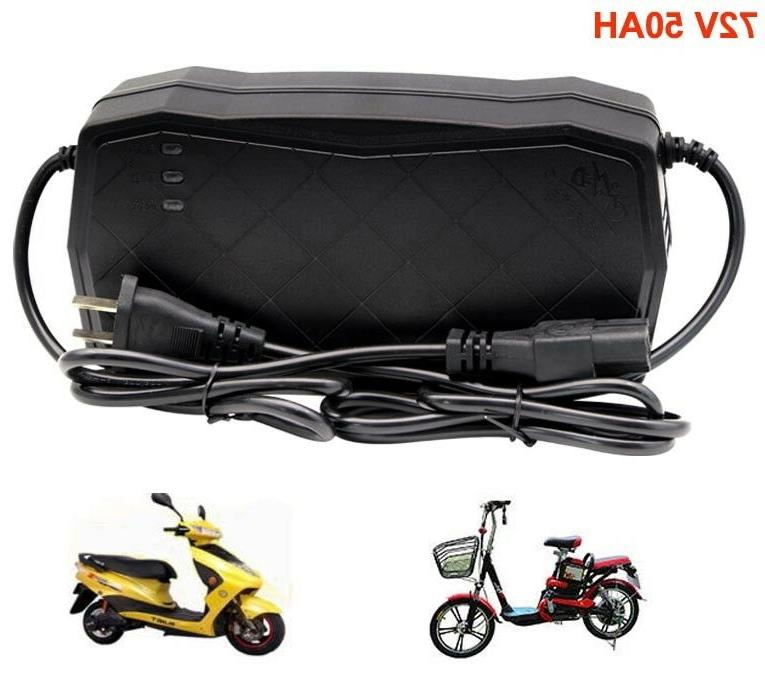 72v 50ah lead acid battery charger
