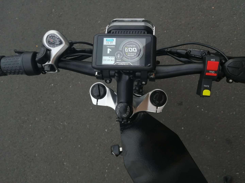 72V Bluetooth Adult Dirt Bike Motorcycle 65MPH+