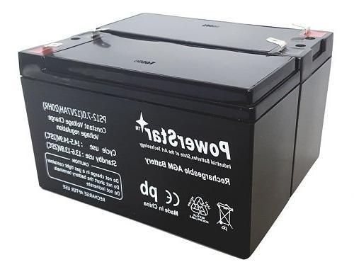 2pk 12V 7AH Battery RAZOR ES300 E200 Bella Daisy