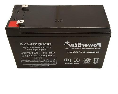 2pk 12V 7AH Battery RAZOR E200 E300 Daisy