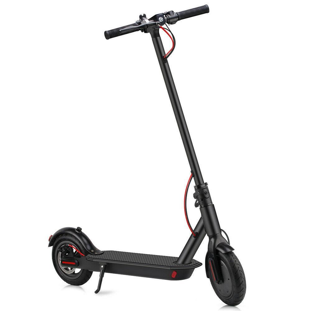 8.5Inch 350W Folding Electric Scooter Skateboard E-Scooter w/Helmet