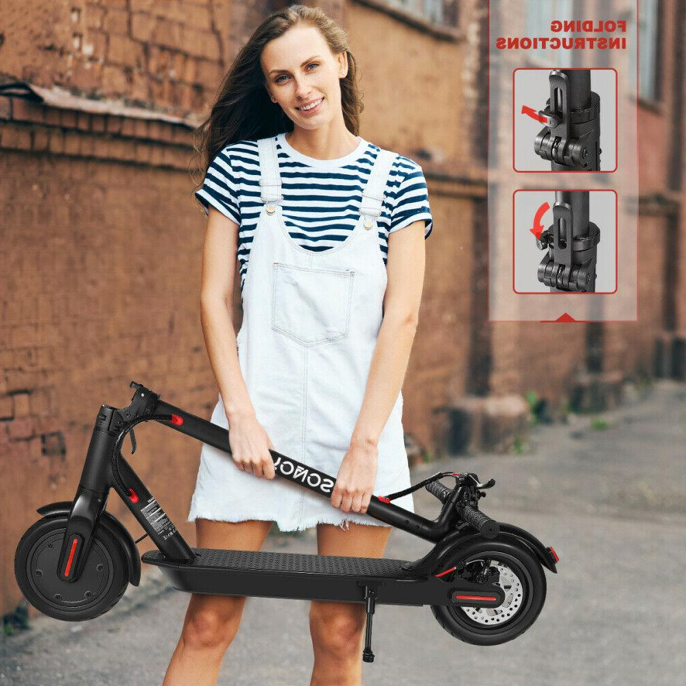 8.5Inch 350W Folding Electric Scooter Skateboard Riding E-Scooter