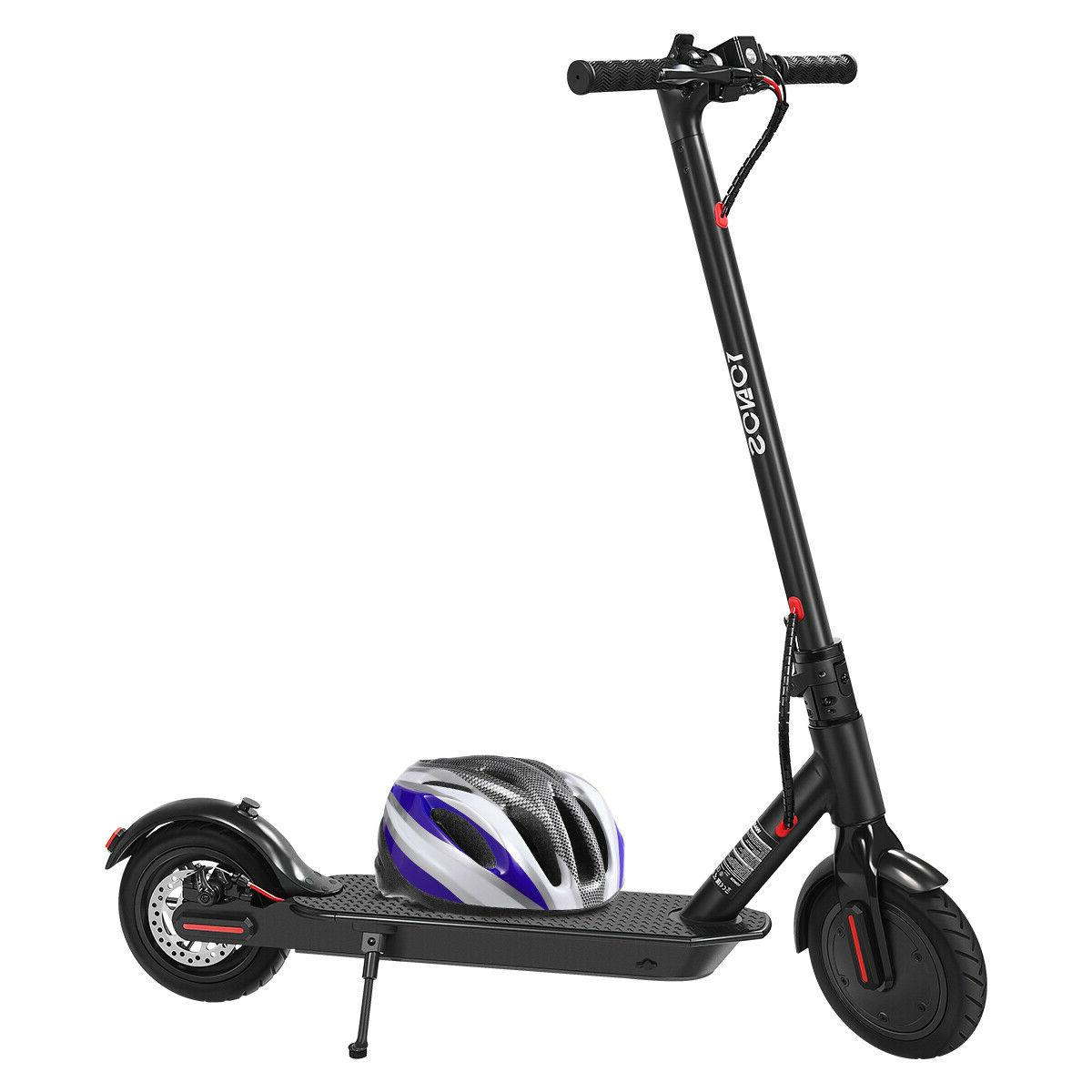 "8.5"" Folding Scooter E-Scooter W/Helmet"