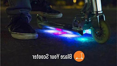 Board The Original LED Underglow Skateboards, Scooters Kick