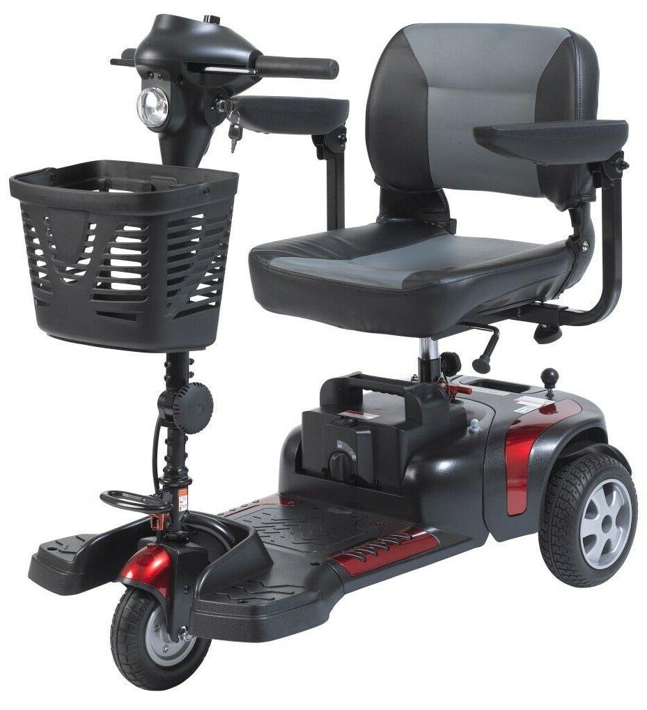 """New- With 20""""  Wide Seat- Phoenix 3 Wheel Electric Scooter P"""