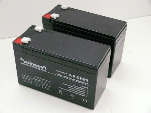 POWERSTAR--2 pack- 12V 9AH SLA battery/Razor Dirt Quad elect