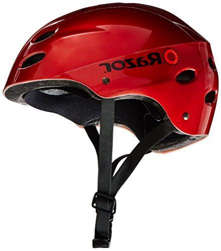 Razor V-17 Helmet, Lucid Red