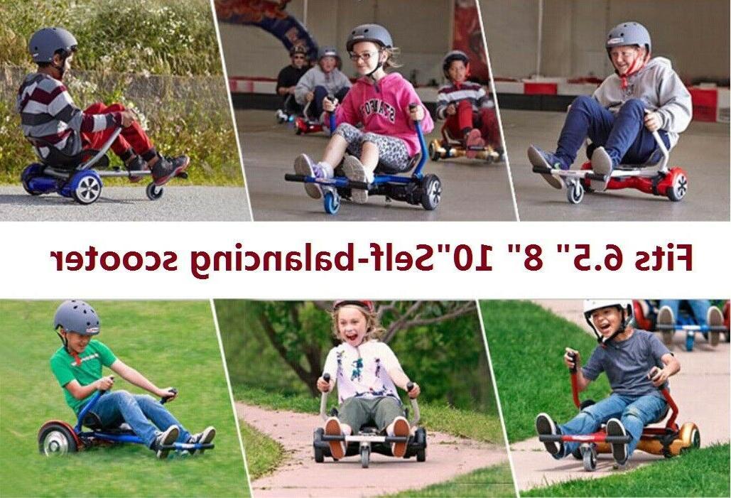 """Adjustable Kart Car 6.5"""" Scooter"""