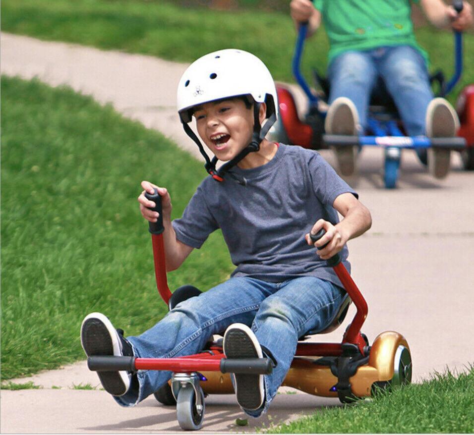 """Adjustable Go Kart Car for 6.5"""" Scooter"""