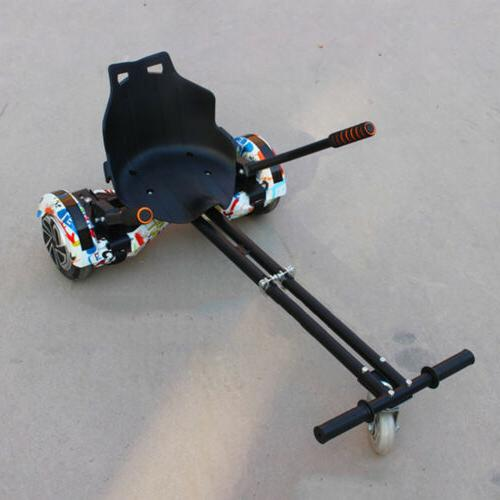 """Adjustable Cart Fits 6.5""""/8""""/10"""" Hoverboard Accessory BLACK"""