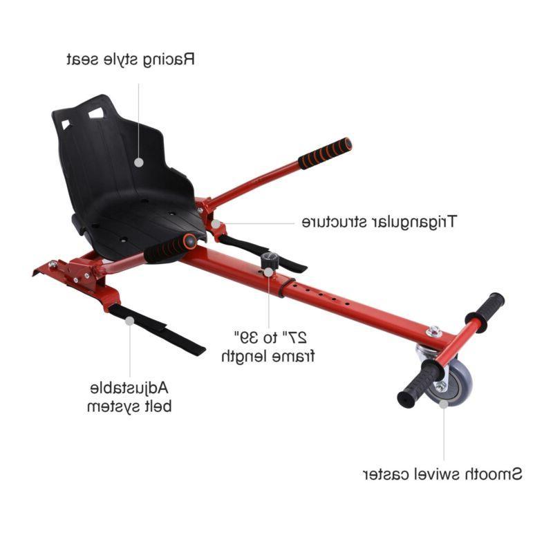 Hoverkart Go-kart Kit Cart Red