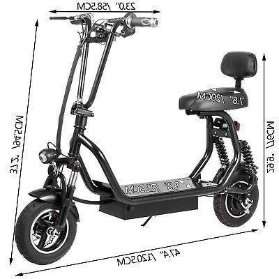 Adult Electric 12Ah 400W Up to 35km/h Commuter Scooter