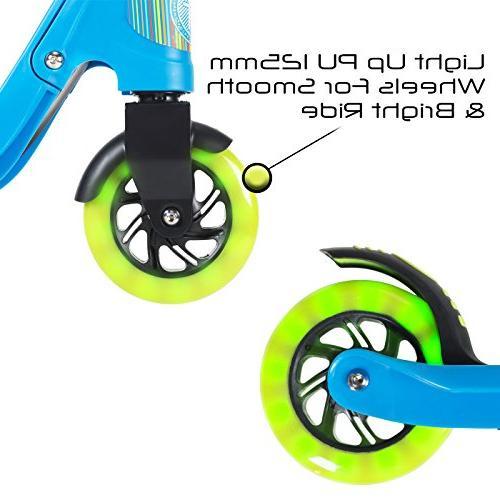 Flybar Scooter Design 2 Up LED Handles