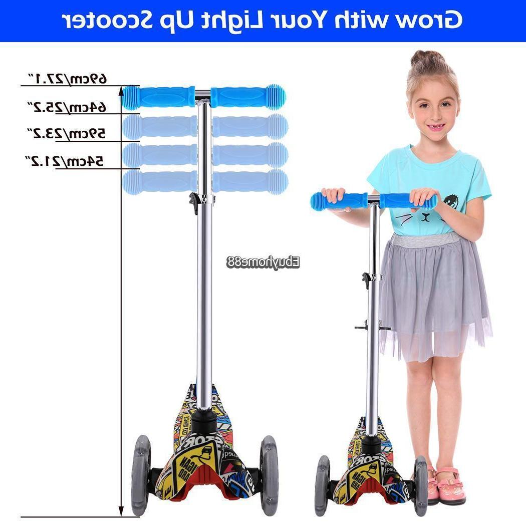 Age Deluxe Kick Scooters Girls Wheel