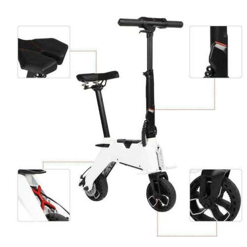 Aluminum Electric Bike Foldable Moped Bicycle E-Bike