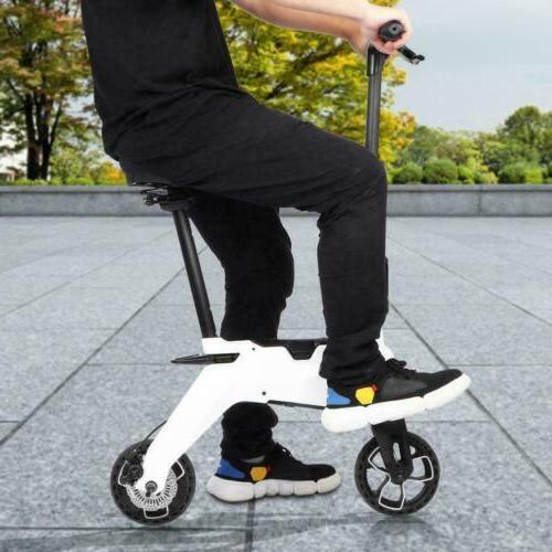 Aluminum Foldable Moped Bicycle