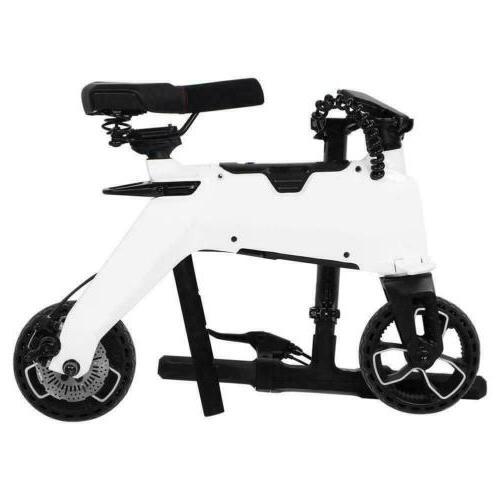 Aluminum Bike Foldable Moped Bicycle E-Bike 110-240V Gift