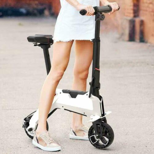 Aluminum Electric Scooter Foldable Bicycle E-Bike 110-240V