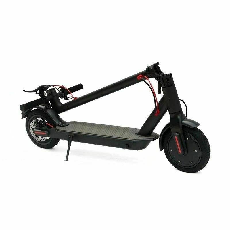Aluminum Offroad Dirt Kick Scooter All Terrain Mountain + Electric Scooter