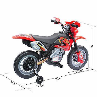Aosom Ride-On Motorcycle Bike Battery