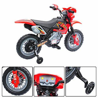 "6V 40.2"" Ride-On Powered Bike Battery Scooter Red"
