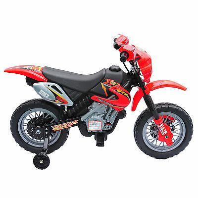 6V Ride-On Motorcycle Dirt Bike