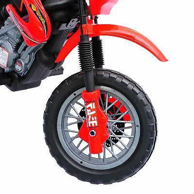 Aosom 6V Ride-On Motorcycle Powered Bike Battery Red