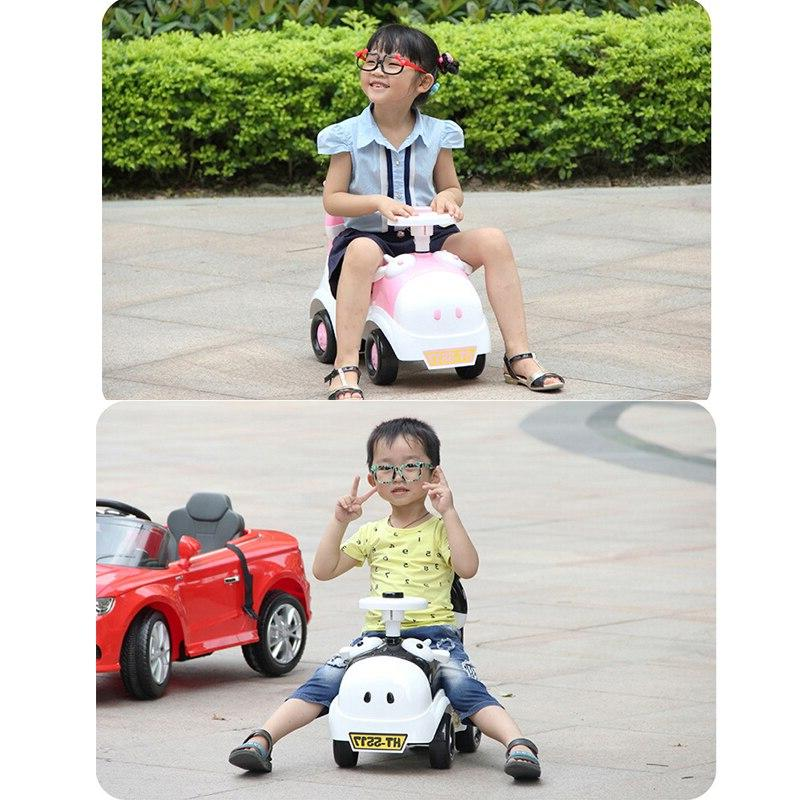 Baby Shining Car Toy Children on Car Old <font><b>Scooter</b></font> Bike Train Baby 4 Wheels