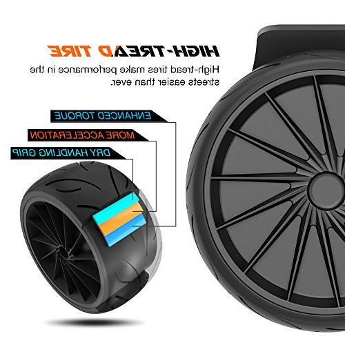EPIKGO Self Balance Balancing -UL2272 400W Battery, Board Over Road Condition-Black