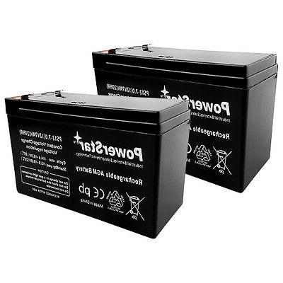 2x 12 Volt 7Ah Battery
