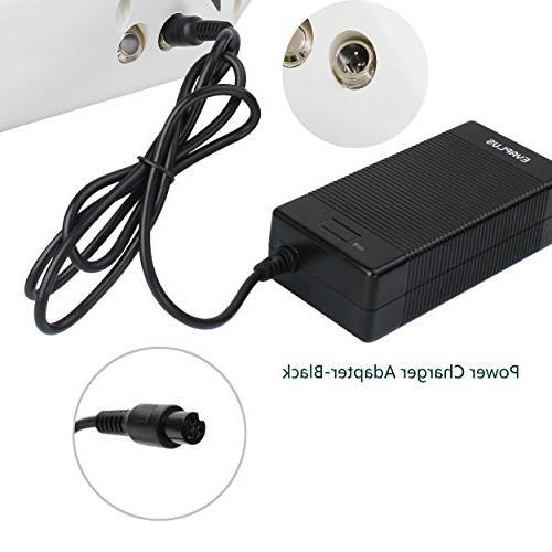 EVAPLUS 1.5A 3-Prong Adapter-Black