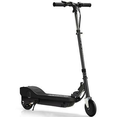 Maxtra Black Adjustable Folding Electric Scooter Kids Motori
