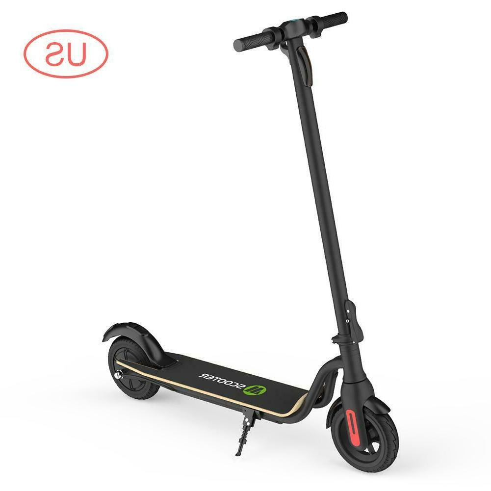 Black Foldable Electric Scooter Kick