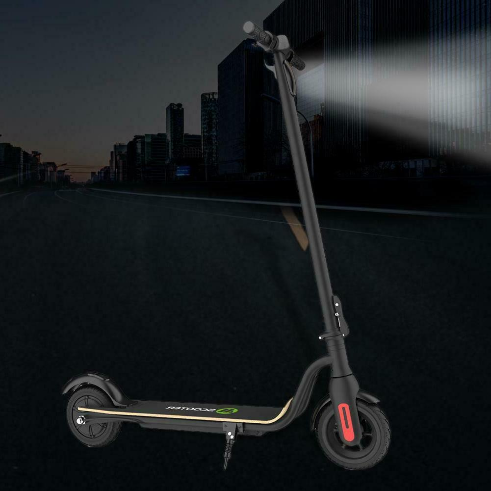 Black Bicycle Foldable Electric Scooter Adults Kick