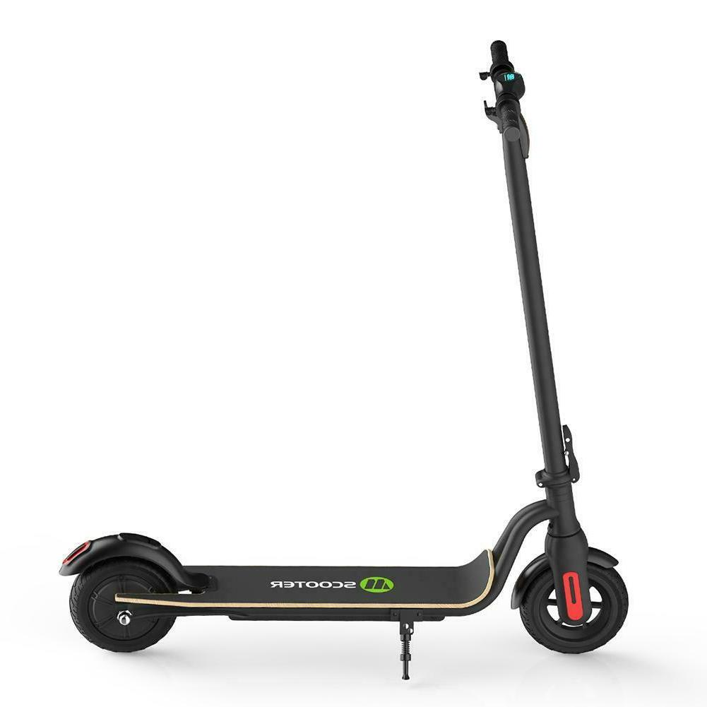Black Electric Bicycle Electric Scooter Kick
