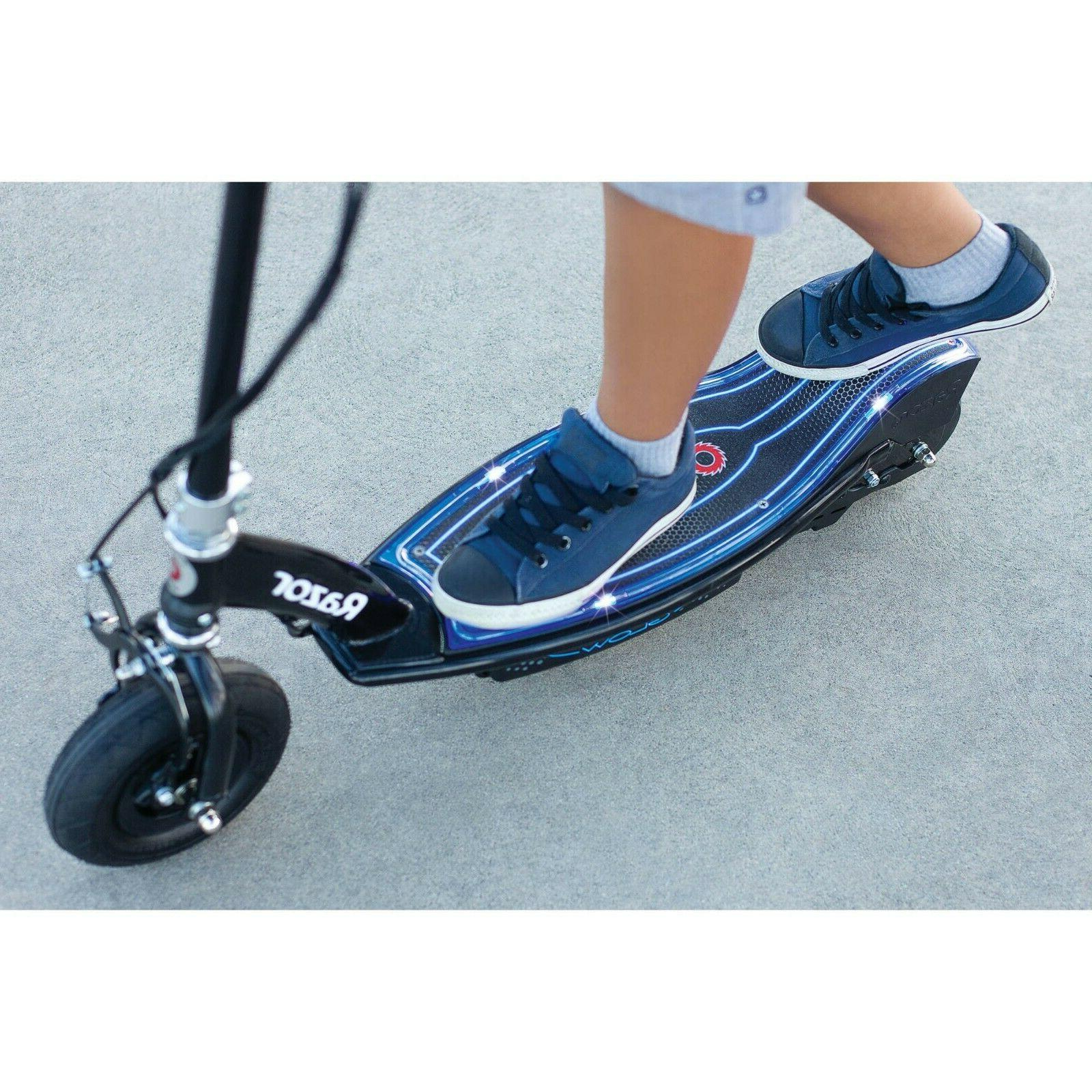 Blue Electric Scooter