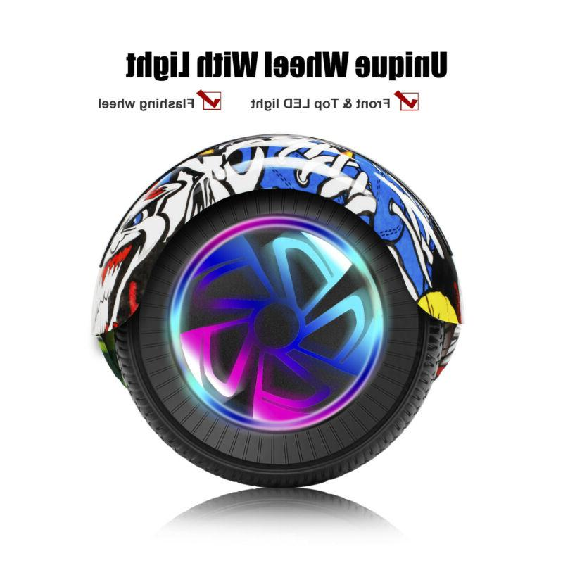 Bluetooth Hoverboard Kids Electric UL2272 LED
