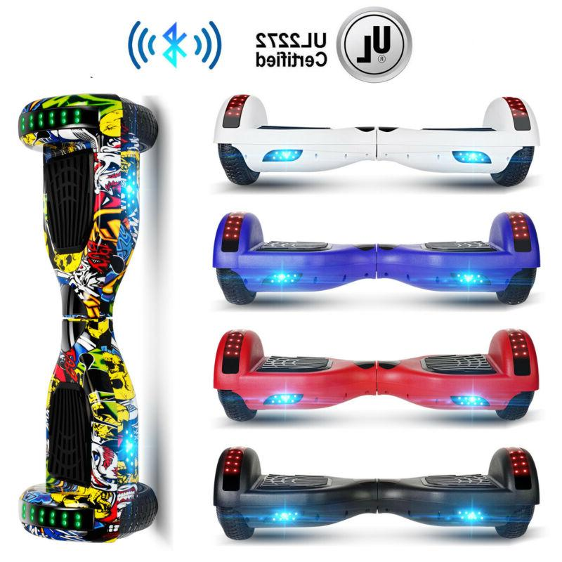 bluetooth hoverboard for kids electric self balancing