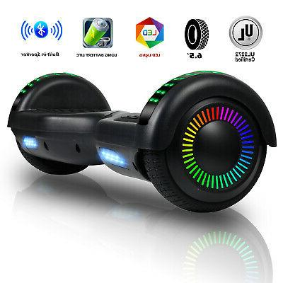 Bluetooth Hoverboard for Kids LED Electric Balance Scooter
