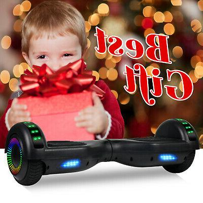 Bluetooth Kids LED Electric Scooter Scooter Hoverboard