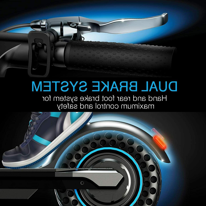 "Brookstone Electric Motor, 10"" Honeycomb Tires"