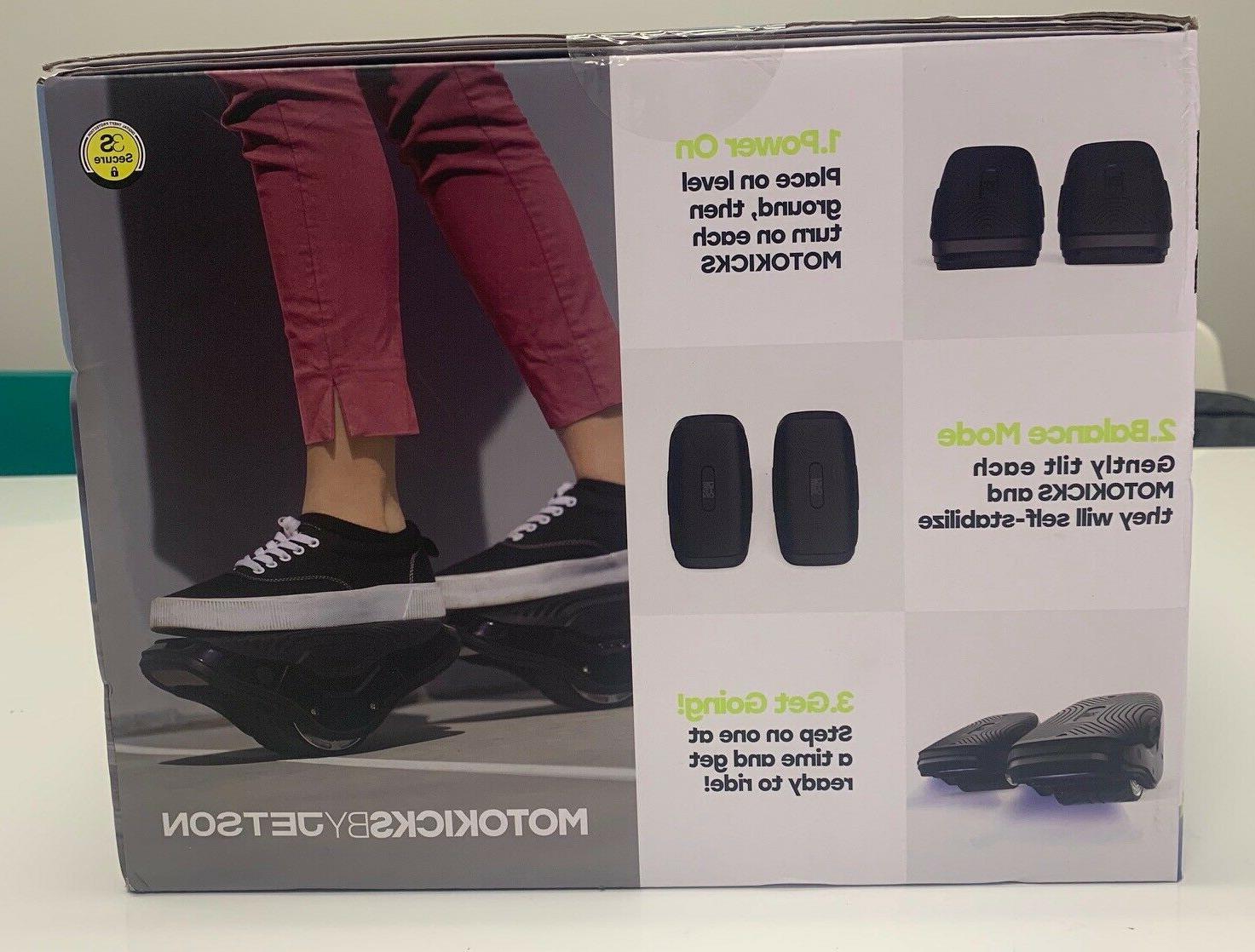 Brand new Jetson MotoKicks Hover Shoes Self Balancing