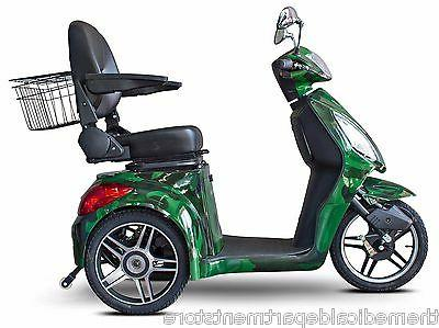 camo green fast ew 36 mobility scooter