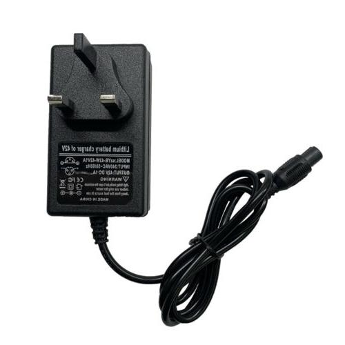 42V Charger Adaptor for Electric Bikes Scooters