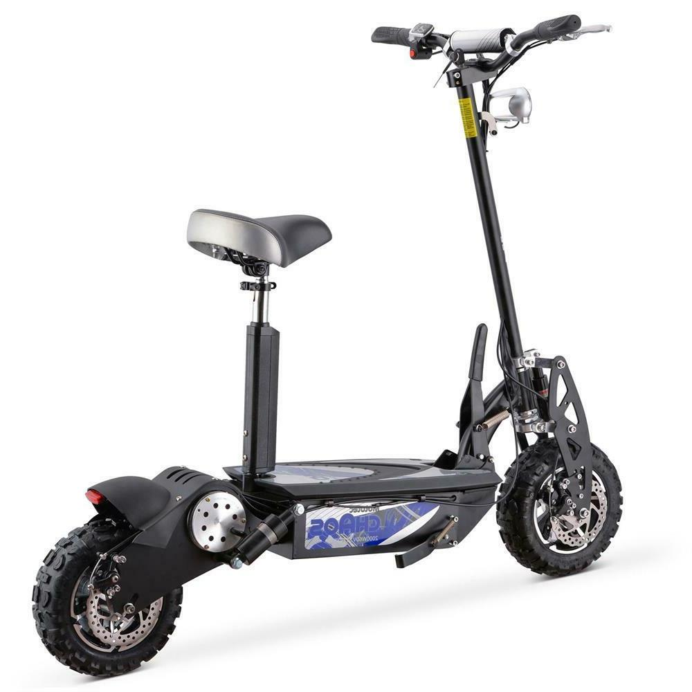 Fast 32 mph 2000 Watt Lithium ion Battery Powered Electric S